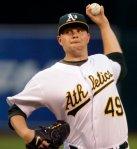 Brett Anderson Oakland A's