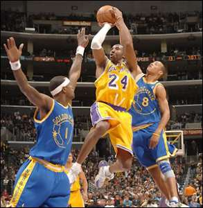 Kobe Bryant Shooting