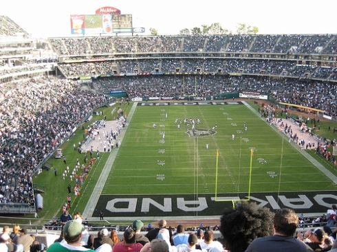 Oakland Coliseum Raiders