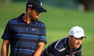 Not everybody is intimidated by Tiger all the time.