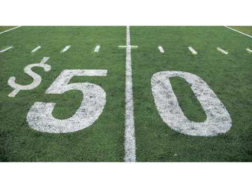 50 yard line money
