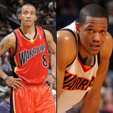 Monta Ellis Anthony Randolph Warriors