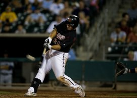 Rivercats Brett Wallace 3-Run Home Run