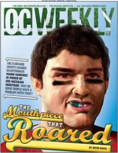 Mark Sanchez Mexican Flag Mouthpiece
