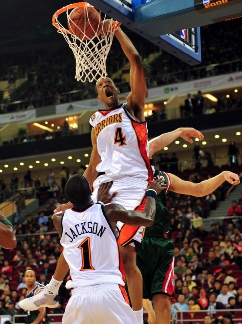 Anthony Randolph won't hit his full stride for a few years, but this season we will see his true potential!