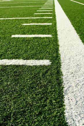 Football Field Sideline
