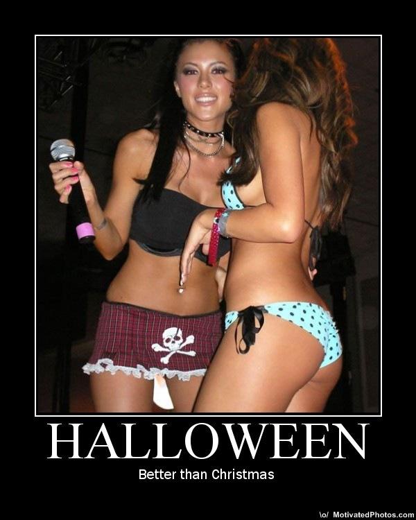 Halloween nudes sexty girl