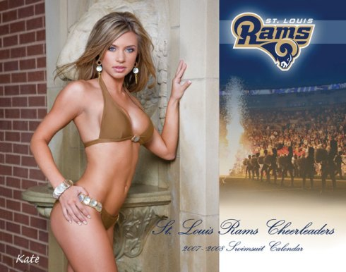 My favorite Rams Cheerleader