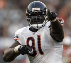 Tommie Harris Chicago Bears