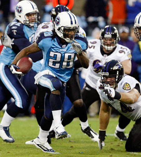 chris johnson teeth. The Titans played really bad