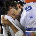 Tony Romo crying