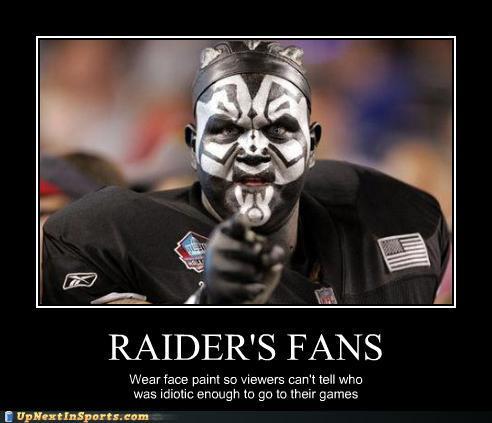 It is still early but the raiders look like a joke page 2