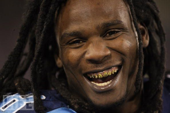 Chris Johnson Gold Teeth