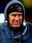 bill belichick pissed