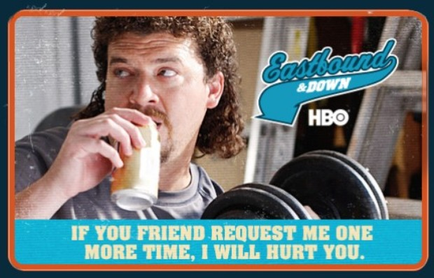 Kenny Powers Kenny Powers Funny Poster