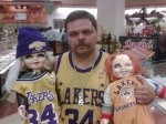 Funny Lakers fan