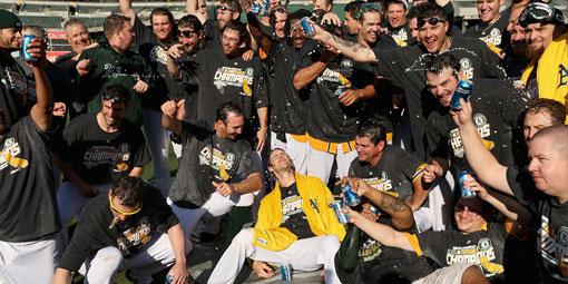 Oakland Athletics AL West Champions